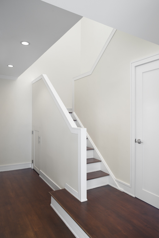 stairs with hard floor