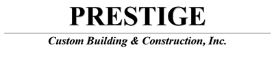 prestige custom builder logo