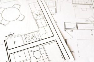 blue print design of a home