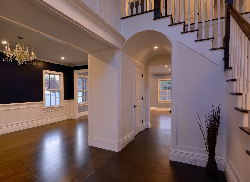 Main Floor of Custom Home
