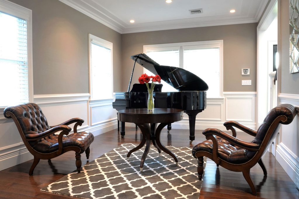 Luxury Piano Room