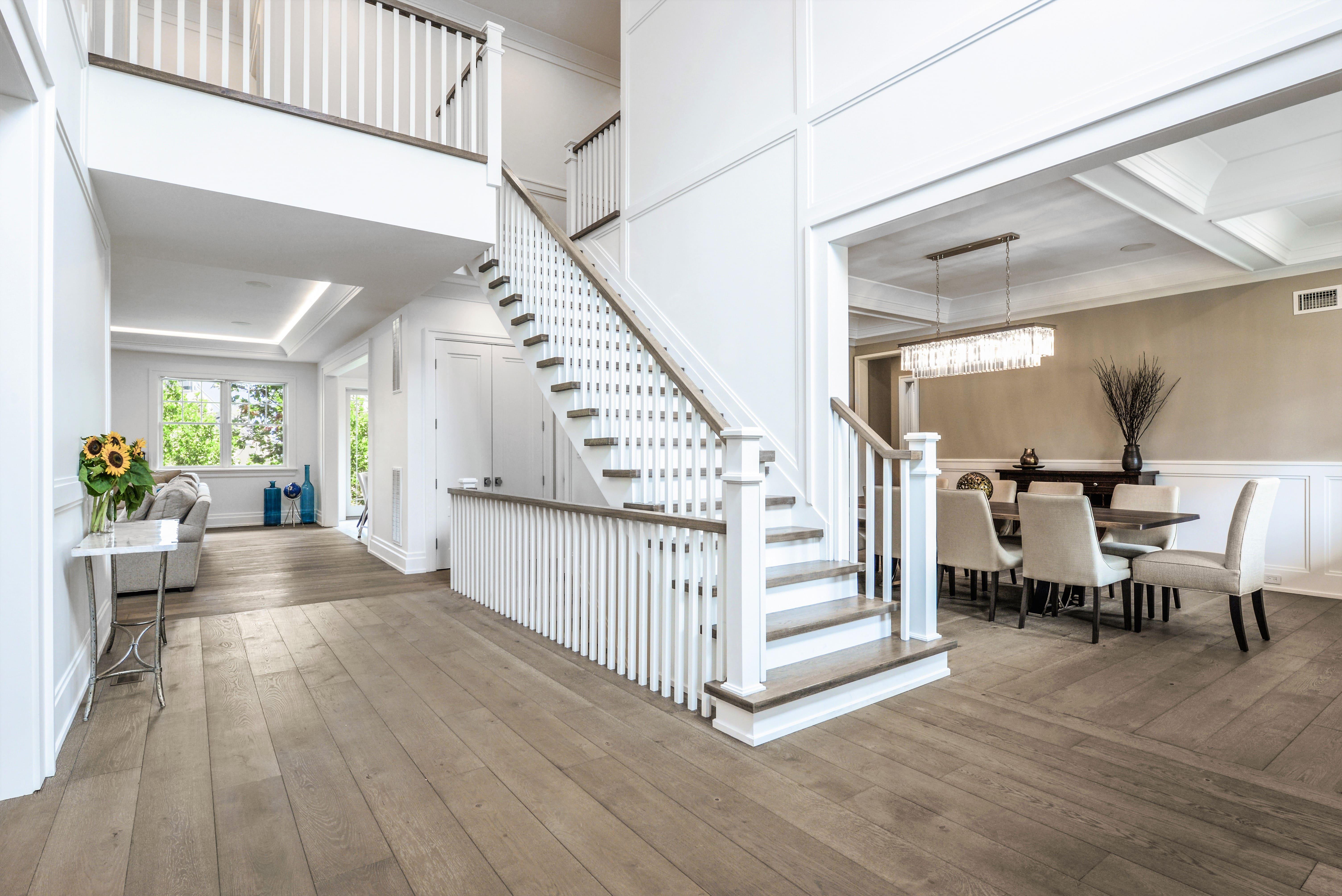 custom entryway & staircase