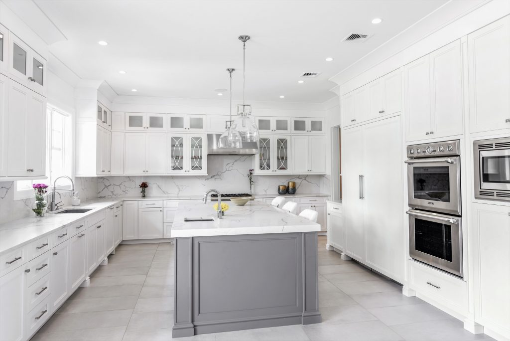 Marble Kitchen in The Hamptons